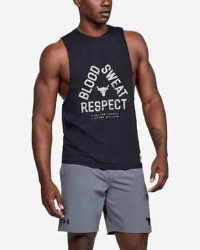 Under Armour Project Rock Blood Sweat Respect Majica brez rokavov