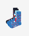 Happy Socks Navy Nogavice 4 parov