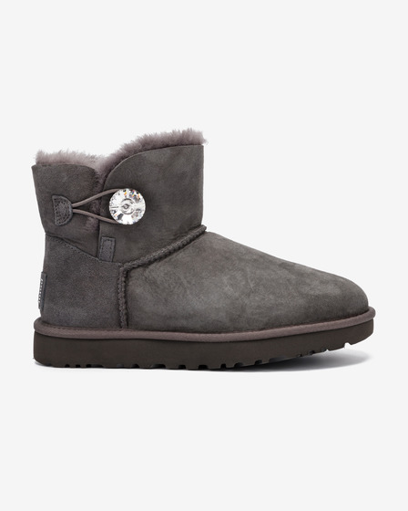UGG Mini Bailey Button Bling Čevlji za sneg